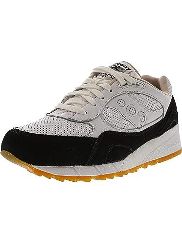 e100a8e26188 Saucony Shadow 6000 Ht Perf Premium Mens Trainers White Black - 11 ...