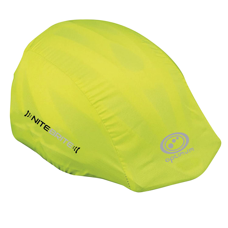 Optimum Nitebrite - Funda para casco (tamaño único), color verde CNBHC