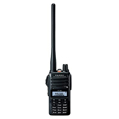 Yaesu Original FT-65 FT-65R 144/440 Dual-Band Rugged & Compact Handheld Transceiver, 5W - 3 Year Warranty: GPS & Navigation