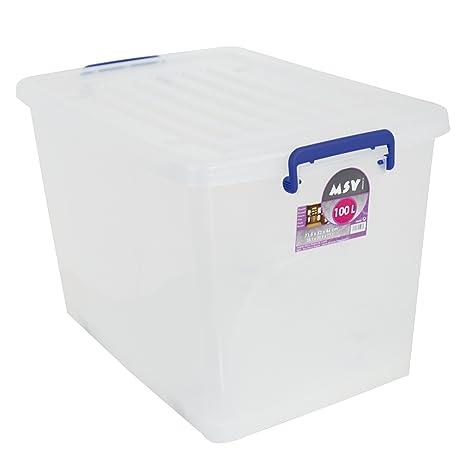 MSV Caja DE ORDENACION 100L, 71.5x52x44 cm