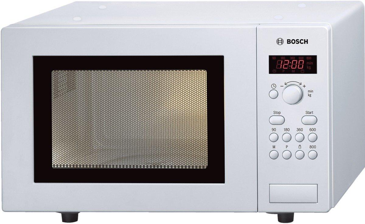Bosch HMT75M421, Forno a microonde, 17 L, 800 W, colore: Bianco [Importato da Germania] 17L
