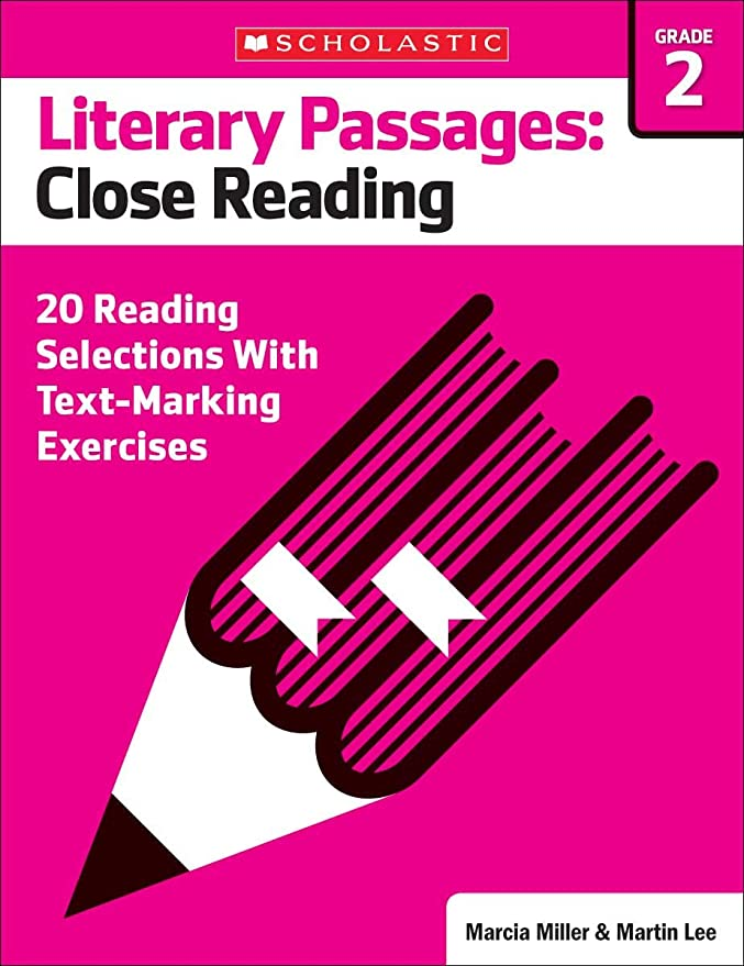 Literary Passages: Close Reading: Grade 2: 20 Reading