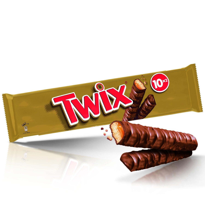 Twix Chocolat au Lait Biscuit Caramel 500 g - Lot de 2  Amazon.fr  Epicerie c5b825991ee