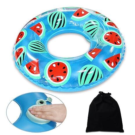 Onlyesh Flotador Anillo de Natación Inflable Playa Piscina Donut para Niños