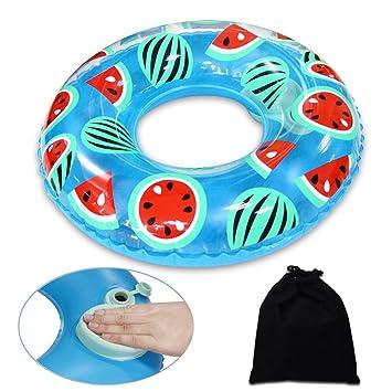 Onlyesh Flotador Anillo de Natación Inflable Playa Piscina Donut para Niños: Amazon.es: Juguetes y juegos