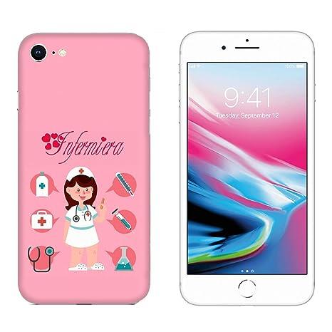 Generico Cover Apple Iphone 7 Lavoro Donne Infermiera Con Sfondo