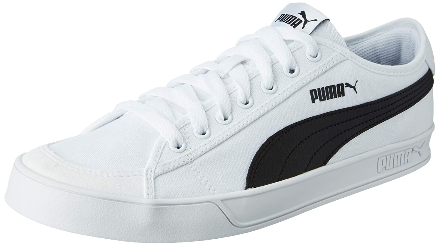 80b278690c3d Puma Boy s Smash v2 Vulc CV Sneakers  Buy Online at Low Prices in India -  Amazon.in