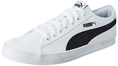 307478cf3eab81 Puma Boy s Smash v2 Vulc CV Sneakers  Buy Online at Low Prices in ...