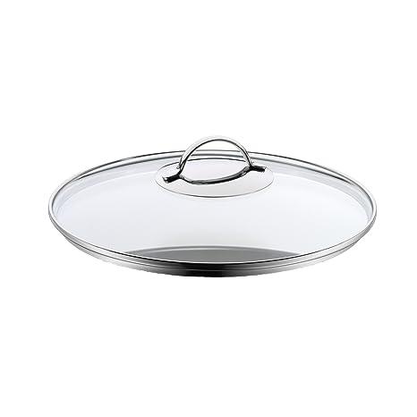 WMF Tapadera de Cristal Olla, Apta para lavavajillas y Horno, de 28 cm de