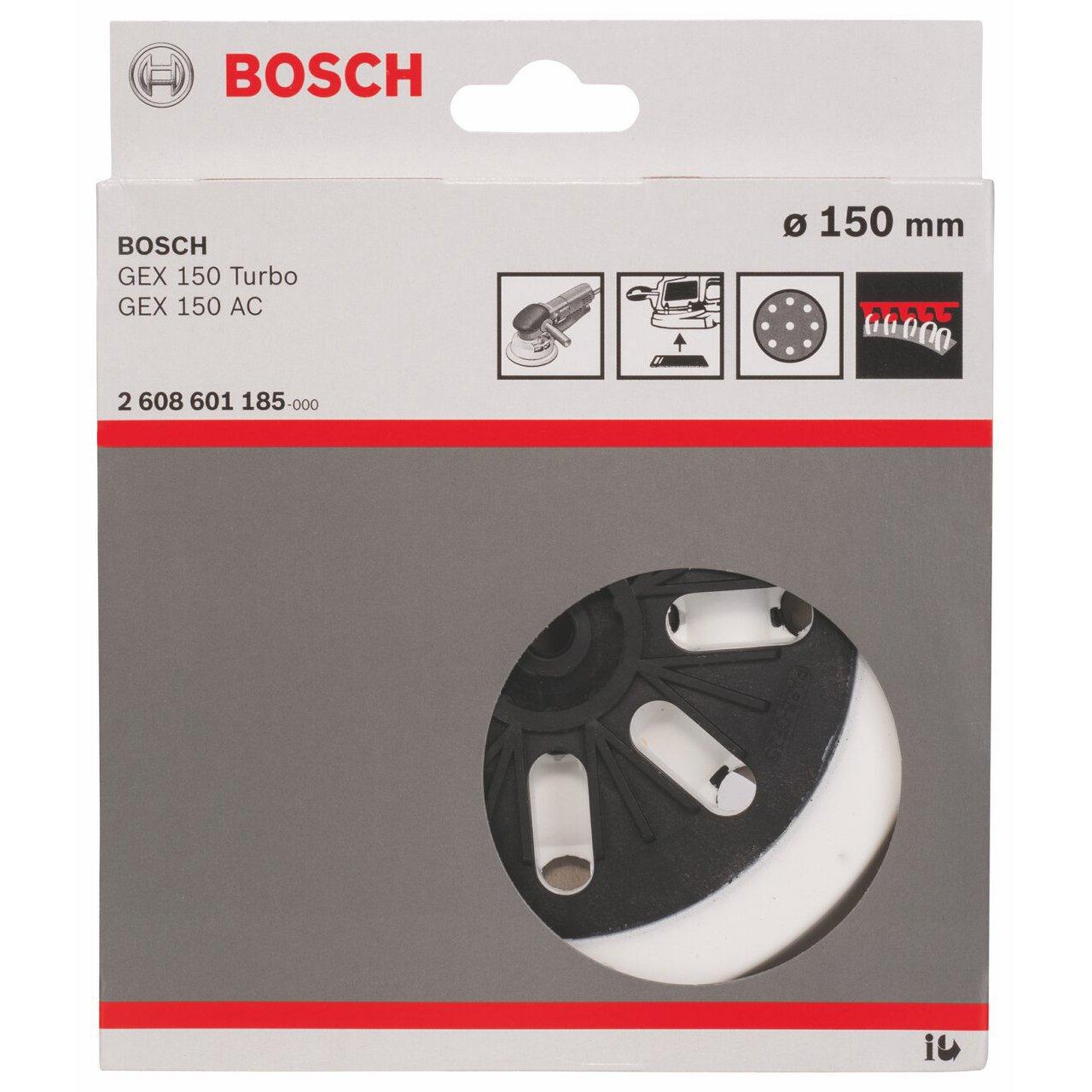 Bosch 2 608 601 185 - Plato de lija - weich, 150 mm (pack de 1): Amazon.es: Bricolaje y herramientas