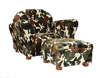 KEET Roundy Kidu0027s Chair With Ottoman, ...