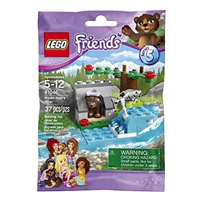 LEGO Friends 41046 Brown Bear's River: Toys & Games