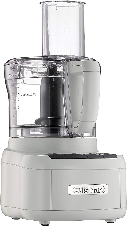 Cuisinart FP-8P1CGR Elemental 8-Cup Food Processor, Light Grey