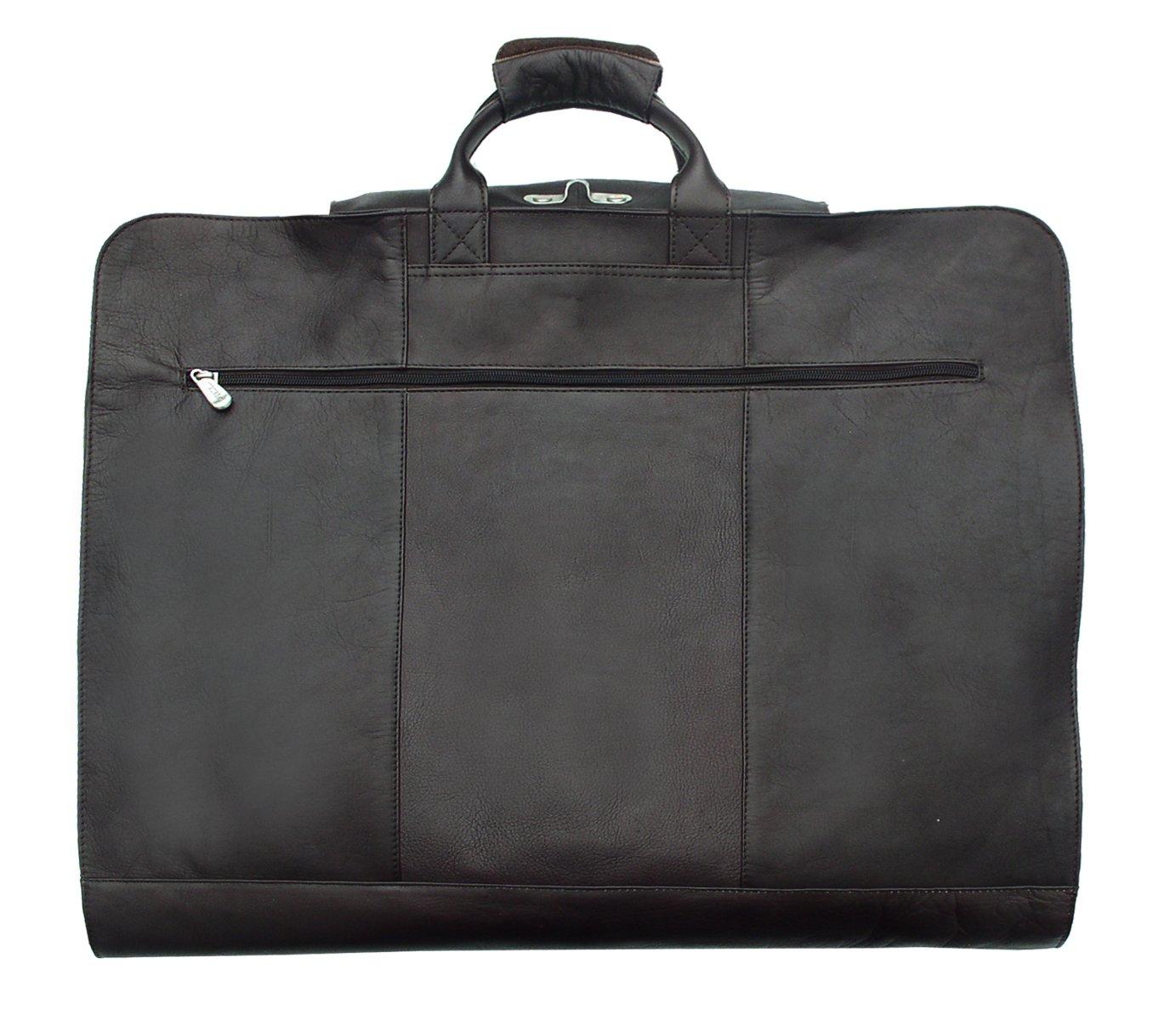 Piel Leather Traveler Garment Cover in Black
