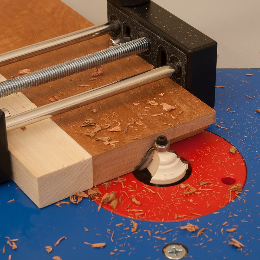 Small Stock or Piece Holder For Use With Router Tables. Safely Cut Smaller Pieces of Wood. Works With Any Router Table and Is Ideal For Free Hand Work by Peachtree Woodworking Supply (Image #4)