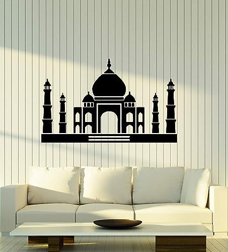 Amazon Com Vinyl Decal Wall Sticker Taj Mahal Mosque India Interior