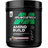 BCAA Amino Acids + Electrolyte Powder   MuscleTech Amino Build   7g of BCAAs + Electrolytes   Support Muscle Recovery, Build