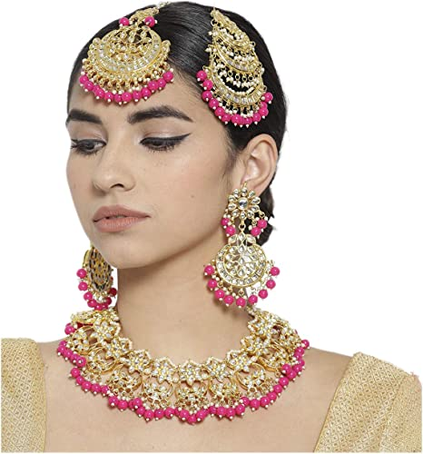 Amazon Com Ratna Indian Traditional 18k Gold Plated Exclusive