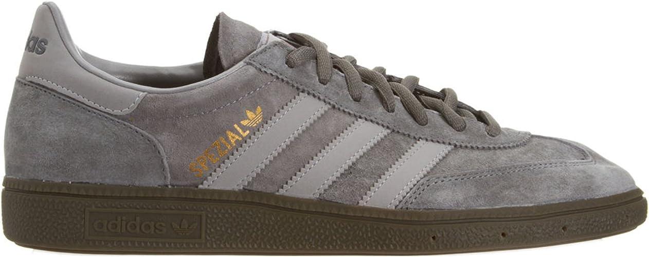 Adidas Spezial Grey Mens Trainers Size
