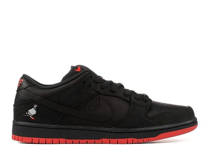 quality design c6db3 b5f65 Amazon.com  Nike SB Dunk Low TRD QS Black Pigeon - 883232-008  Fashion  Sneakers