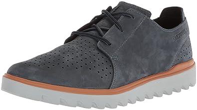 983e132558ce3 Amazon.com | Merrell Men's Downtown Lace Sneaker, Slate, 7 Medium US ...