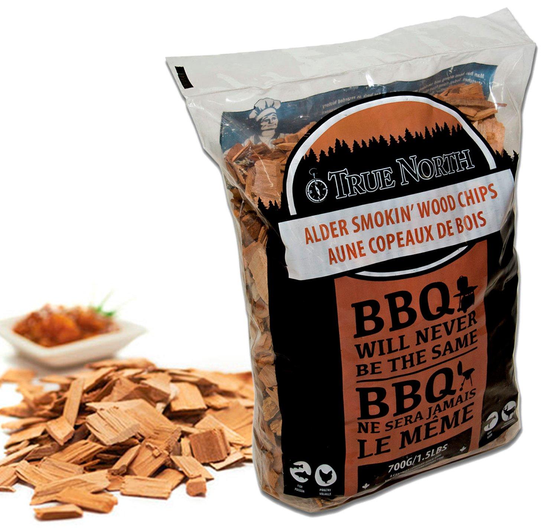 Canadian Pure and Simple ♨ Copeaux de Bois de Fumage Barbecue 700g - Bois d'Aulne -pour fumoir et Barbecue