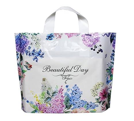 Bolsa de regalo para tienda de ropa, bolsas de plástico para ...