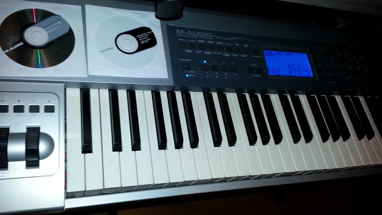 M AUDIO Keystation Pro 88: Amazon.es: Instrumentos musicales
