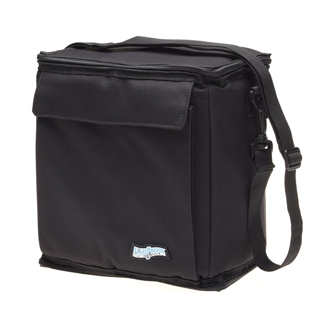 FlexiFreeze Freezable 12 Can Cooler BLACK