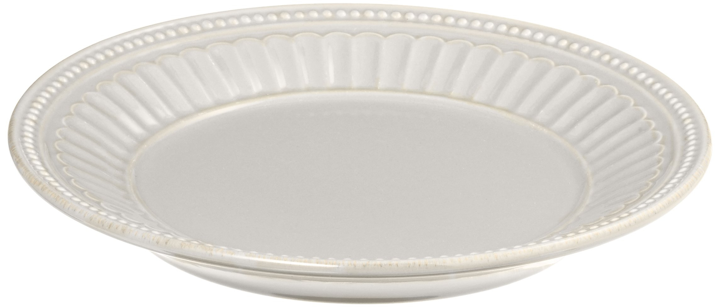 Lenox French Perle Everything Plate, White by Lenox