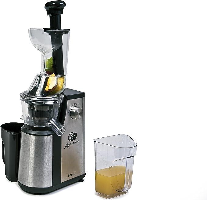Licuadora Extracción Lenta - Acero INOX - 400 W: Amazon.es: Hogar