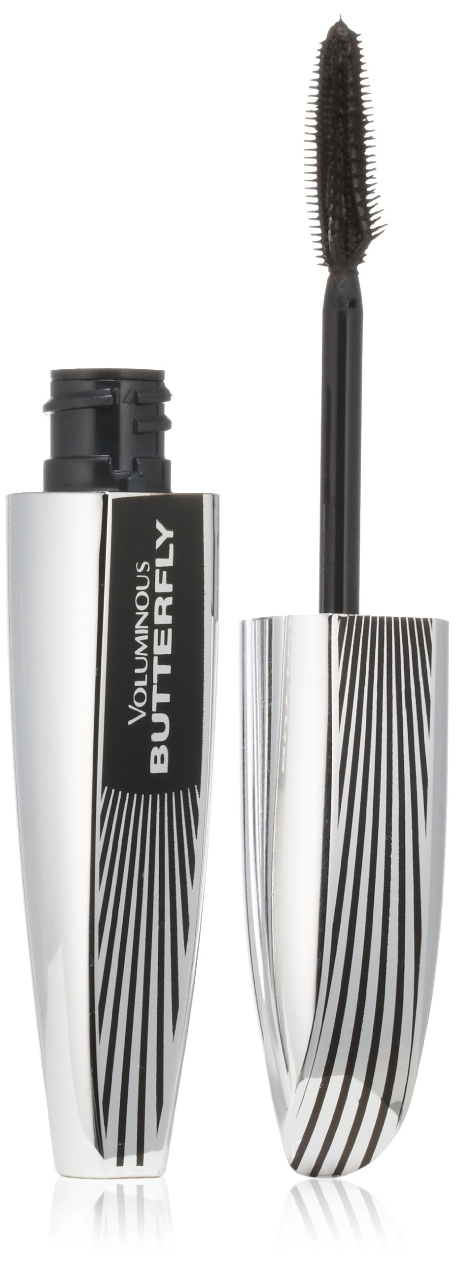 L'Oréal Paris Voluminous Butterfly Lengthening Washable Mascara, Blackest Black, 0.22 fl. oz.