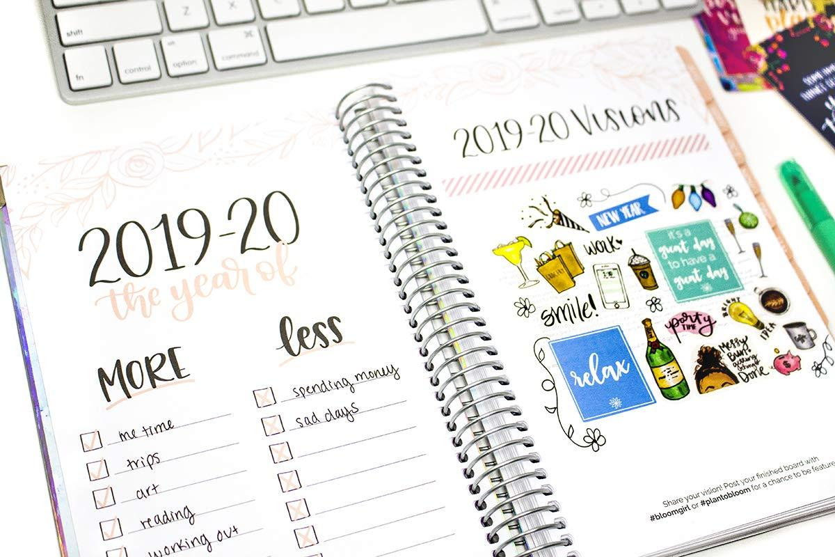 Bloom Daily Planners - Planificador diario de tapa dura ...