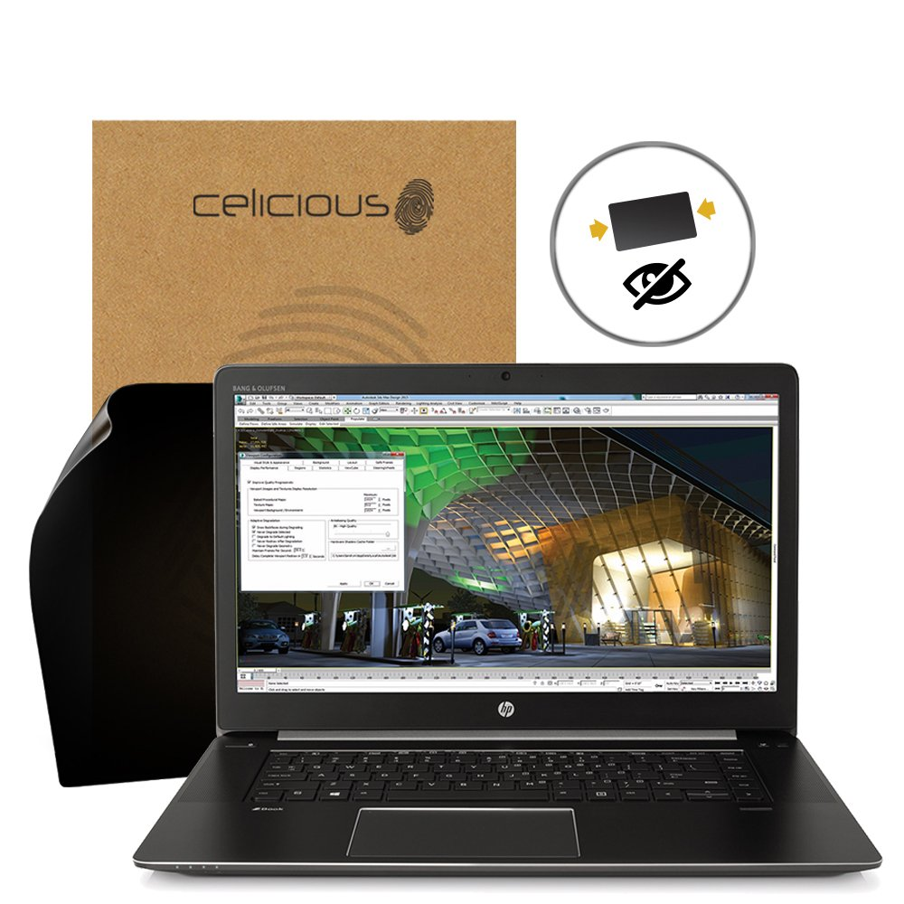 Celicious Privacy 2-Way Anti-Spy Filter Screen Protector Film Compatible with HP ZBook Studio G3 (Touch)