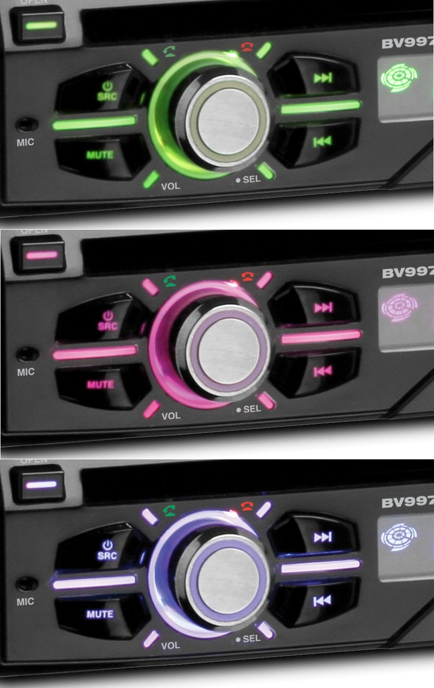 Boss Bv9977 Wiring Harness Library Clarion Eqs746 Wire Amazoncom Audio Single Din 7 Inch Motorized Touchscreen Dvd Player
