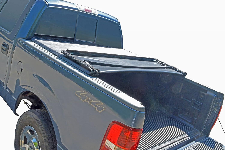TonneauカバーソフトTri Fold forフォードf150 Pickup Truck 6.5 Ft Flaresideベッド B07851R2GC