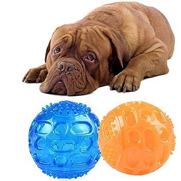 EJIAEN - Juego de pelotas de depilación para perro, 2 unidades, 3 ...