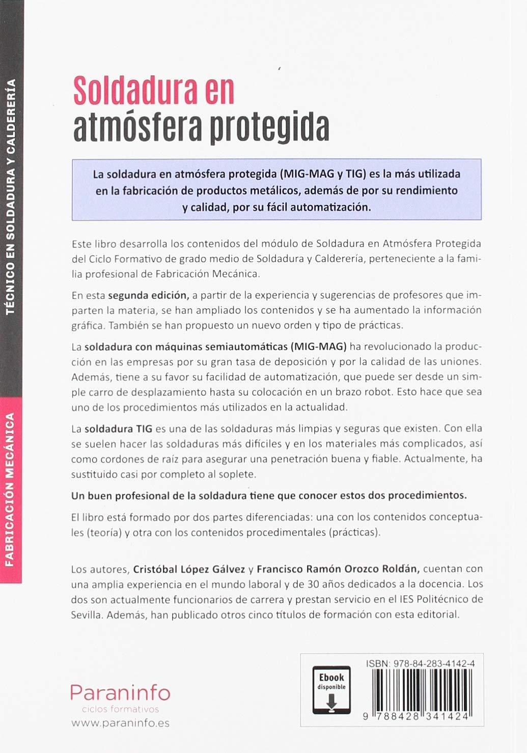 Soldadura En Atmósfera Protegida 2 ª Edición 2019 Francisco