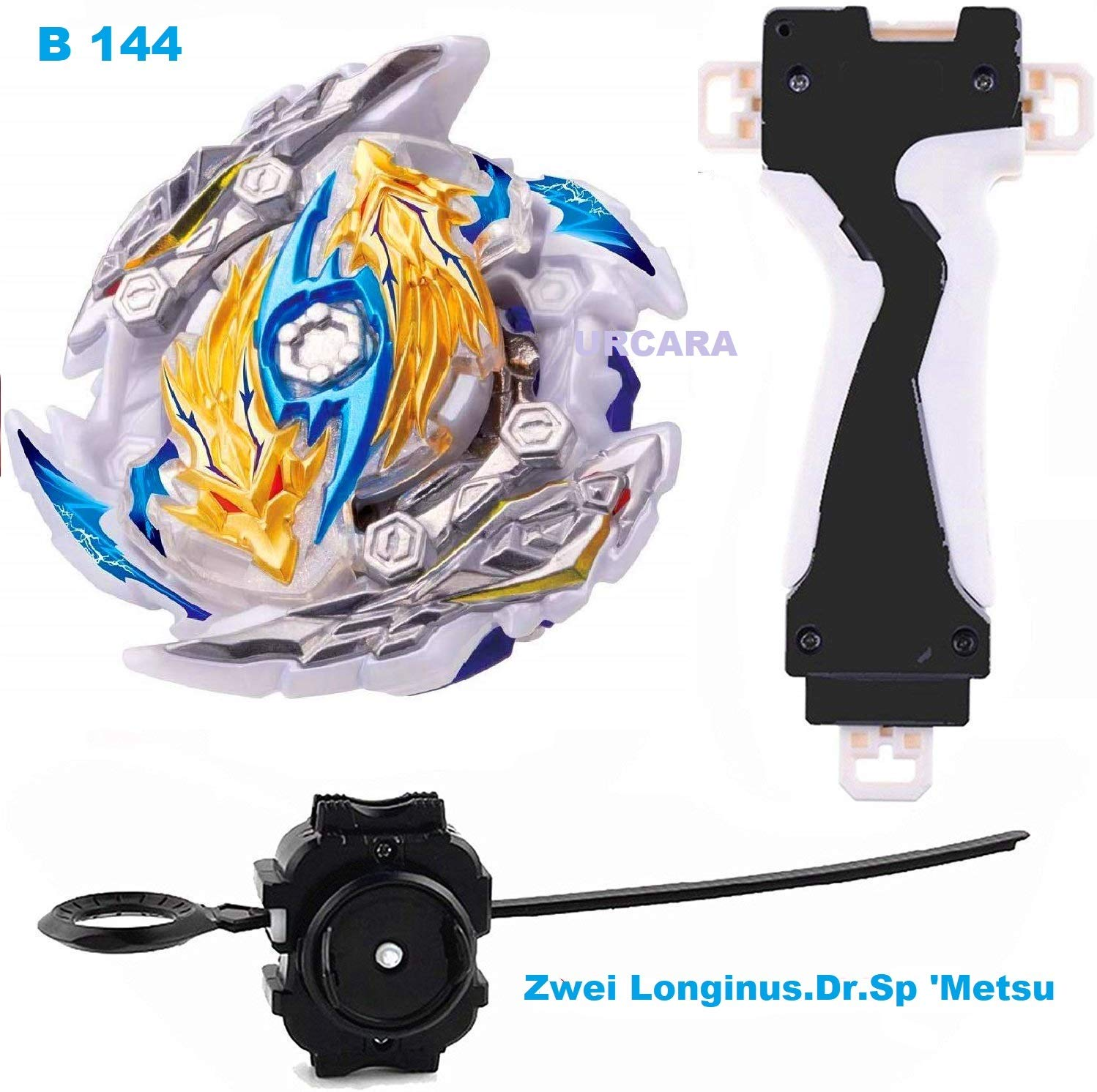 Beyblade Burst GT B-144 Booster Zwei Longinus.Dr.Sp` Metsu Without Launcher Toys