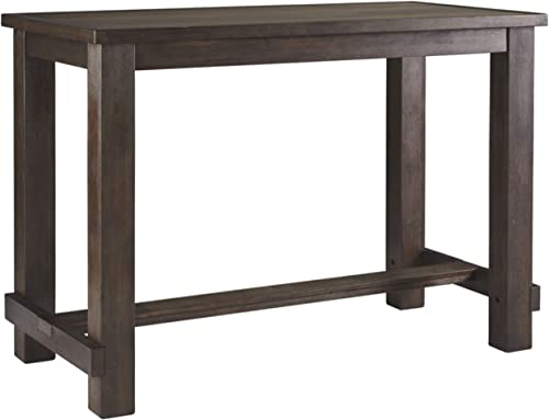 Signature Design By Ashley – Drewing Rectangular Bar Table – Casual Style – Brown