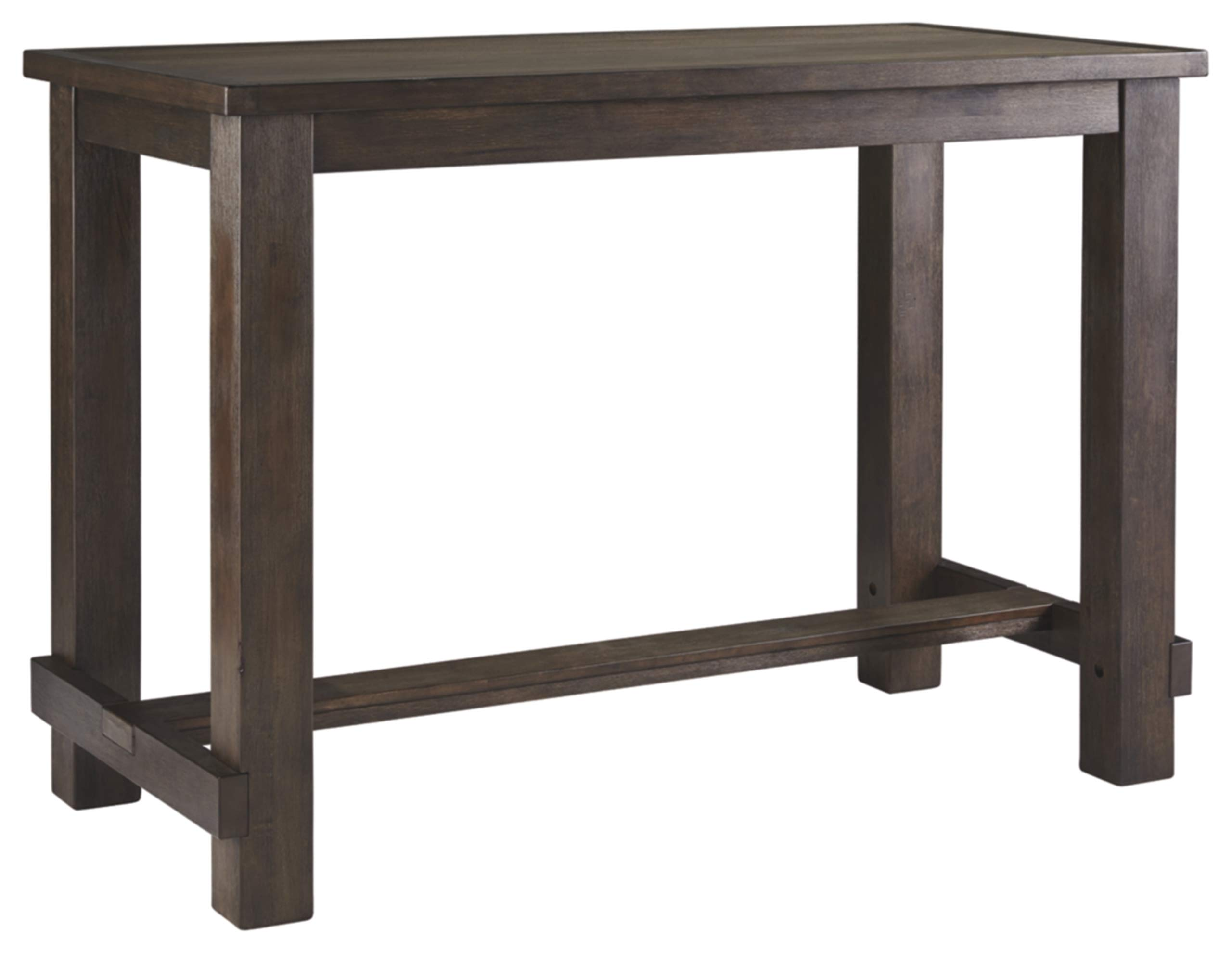 Signature Design by Ashley D538-12 Drewing Bar Table, Brown by Signature Design by Ashley