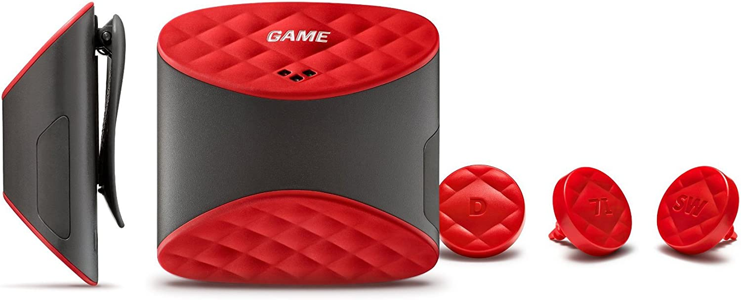Game Golf Digital Shot Tracking System, Red/Black