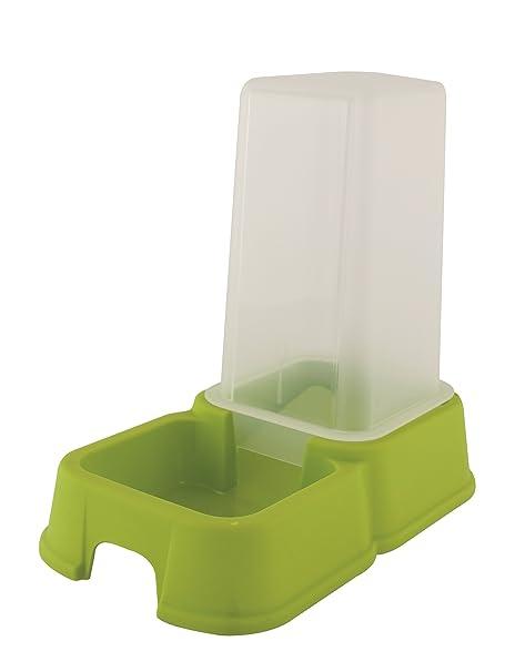 Menz petfeed Automat – Forro de y dispensador de agua, de plástico,