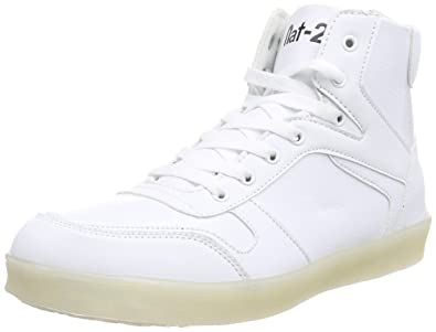 Unisex-Erwachsene LED Basket High-Top, Weiß (White), 38 EU nat-2