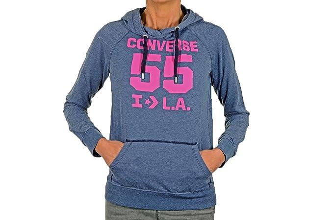 7165bbb454 Converse 55 L.a. Felpe Nuovo Abbigliamento Donna: Amazon.it ...
