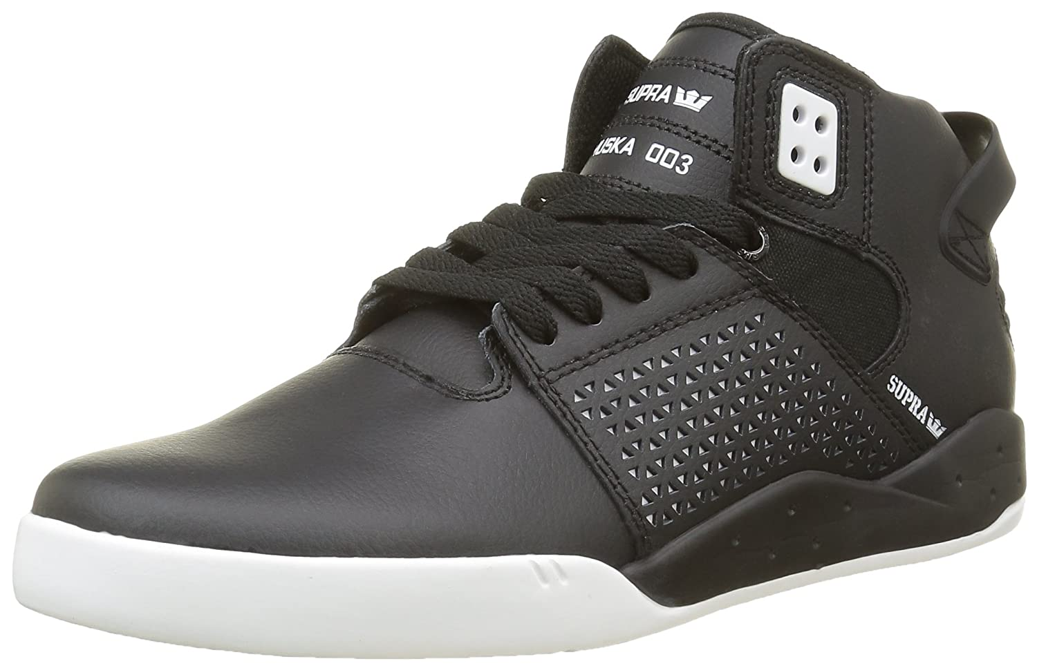 Supra Mens Skytop III Shoes Black Leather