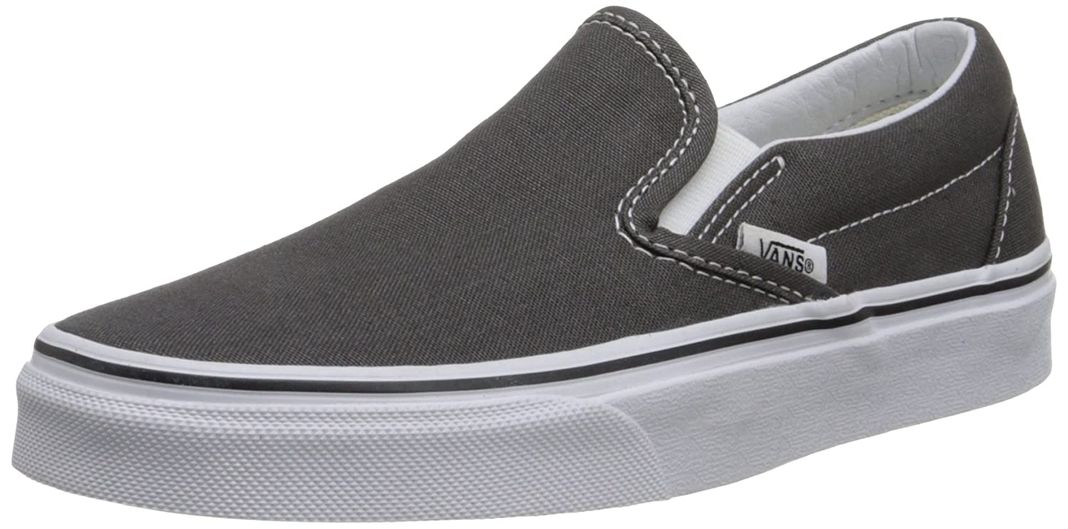 Vans Unisex Classic (Checkerboard) Slip-On Skate Shoe B01MT65H0S 11.5 D(M) US|Charcoal