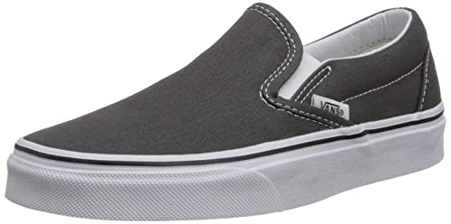 4e69f1dd0f0690 Vans Unisex Classic Slip-On Perf Leather Skate Shoe Charcoal 11.5 D(M) US   Buy Online at Low Prices in India - Amazon.in