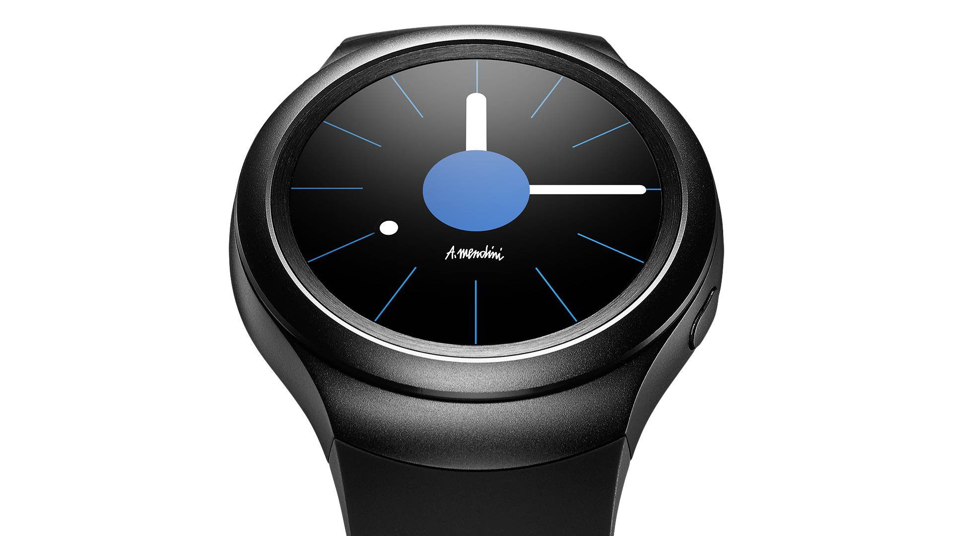 Samsung Gear S2 Smartwatch (Certified Refurbished) (Dark Gray) by Samsung (Image #1)