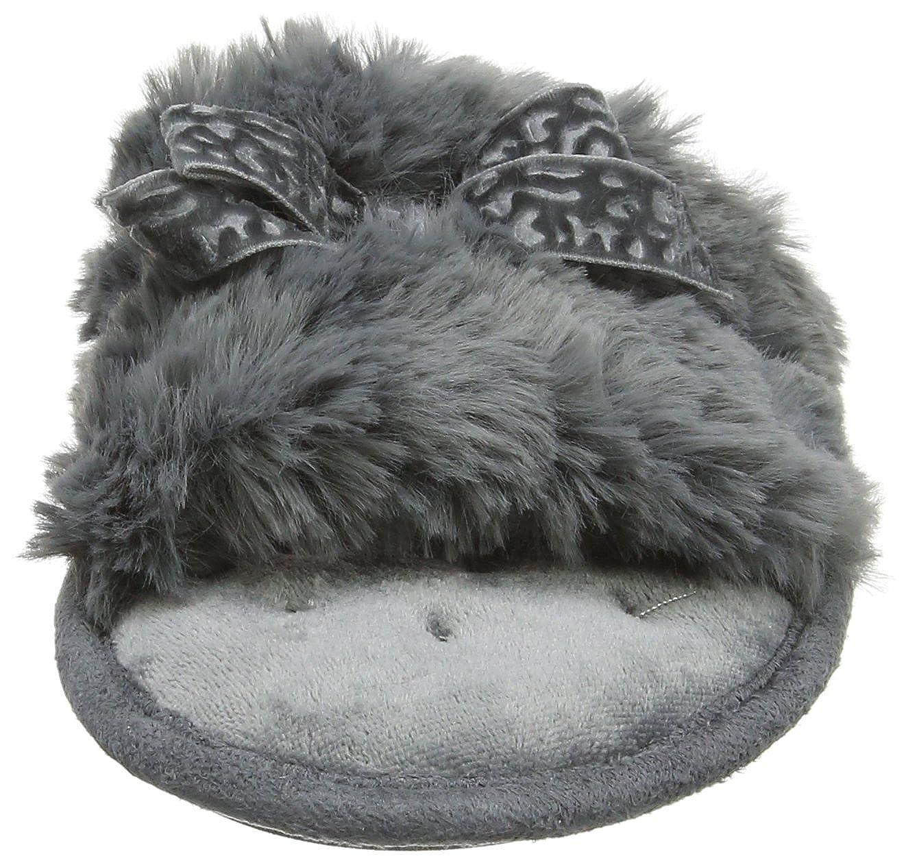 Damen Fluffy Slider Slippers Pantoffeln Isotoner Heißen Verkauf ...